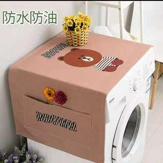 [PO] Washing Machine cover Line Brown