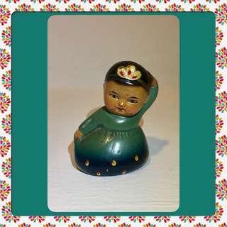 Vintage Cultural Revolution Figurine Sharpener