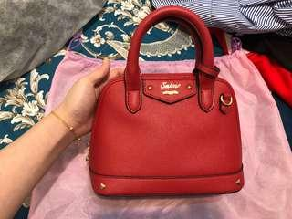 🚚 S'aime東京企劃  紅色手提肩背包