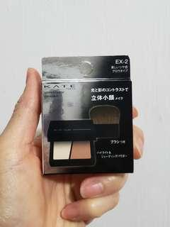 Kate  V字臉立體修容餅 #EX-2  包郵  原價$115