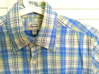 Levi's Strauss Signature Short-Sleeved Fitted Shirt