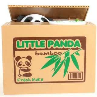 Animal Coin Banks- Children Piggy Bank-educational Coin Bank- Encourage Kids To Save Money- Penny-electric Coin Bank- Mischief Box-with Interesting Sound- Cat, Dog, Panda, Parrot Steal Coin Eat Coin