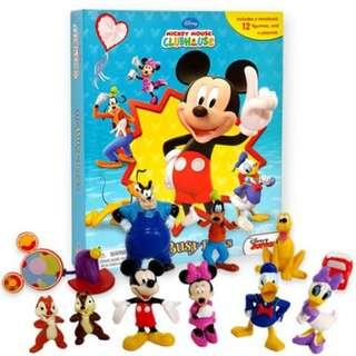 BN: Mickey Mouse Clubhouse: Mouseka Fun! My Busy Books including 12 Figurines and Playmat