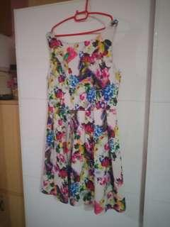Floral Dress Size XL