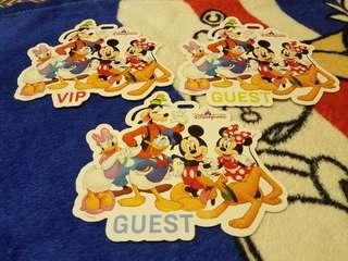 香港迪士尼樂園 包場卡 活動證件 米奇 米妮 唐老鴨 黛絲 高飛