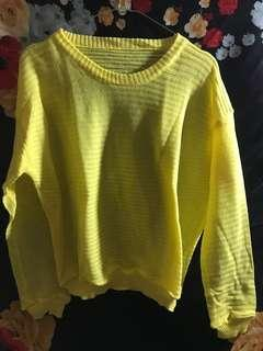 SALE!! New sweater yellow
