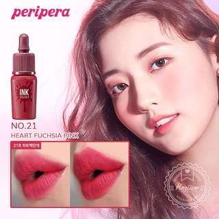🚚 Peripera Ink Velvet Heart Fuchsia Pink