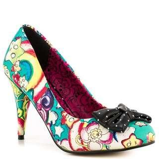 Iron Fist Over the Rainbow Heels