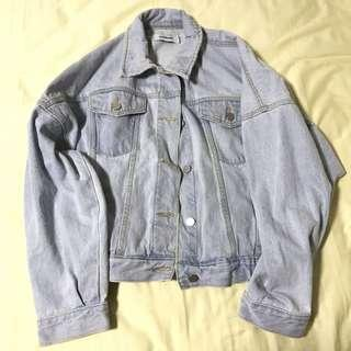 The Editor's Market- Boyfriend Denim Jacket