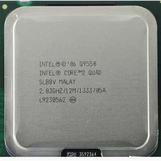 🚚 Intel Core 2 Q9550四核處理器 / 775腳位 / 2.83G / 1M快取、1333MHz(散裝良品)
