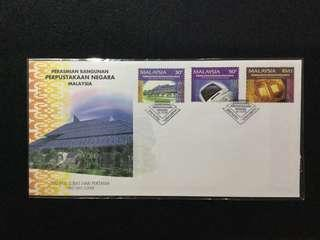 1994 Official Opening Of The National Library Building FDC  (C.V RM7.00)