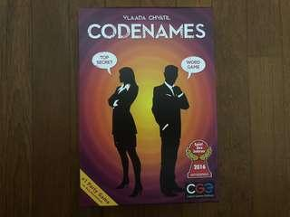 Codenames (only played once)