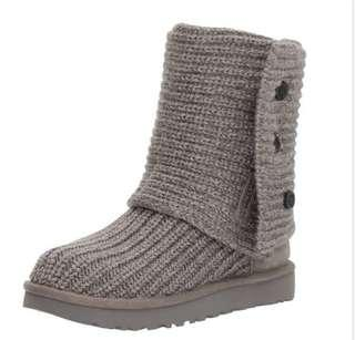 UGG Grey Cardy Boot Size 6