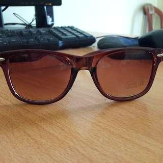 New Kacamata Teenager Coklat Keren Modist Bahan Tebal Bagus Import