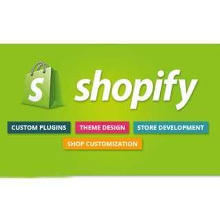 I Will Do E-commerce Shopify Store -Start From S$500