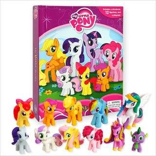 BN: My Little Pony - My Busy Books including 12 Figurines and Playmat