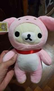 Rilakuma Pink Rabbit Costume