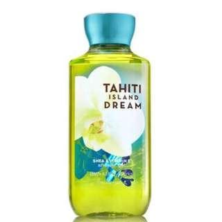 🚚 BN Bath & Body Works Signature Collection TAHITI ISLAND DREAM Shower Gel 295ml