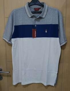 Kaos Polo Cowok Hush Puppies Original Barry Grey Size XXL