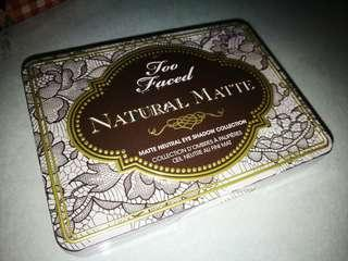 !!free postage!!Too Faced Natural Eyes Palette