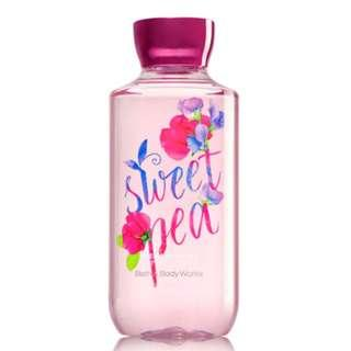 🚚 BN Bath & Body Works Signature Collection SWEET PEA Shower Gel