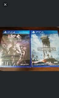 PS4 Final fatansy dissidia and star wars battlefront
