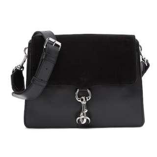 PO Rebecca Minkoff Mab Leather Shoulder Bag Handbag RRP 295USD