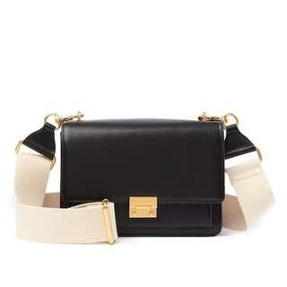 PO Rebecca Minkoff Christy Leather Shoulder Bag Handbag RRP325USD