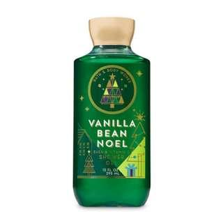 🚚 BN Bath & Body Works Signature Collection VANILLA BEAN NOEL Shower Gel 295ml