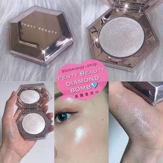 [開團🔅代購] Fenty Beauty Diamond Bomb Highlighter | 鑽石高光💎銀白色光影粉 | Limited Edition