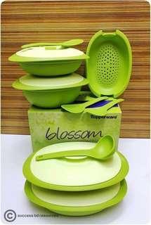[Tupperware] BLOSSOM MICROWAVEABLE SERVEWARE