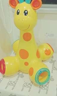Elc giraffe drop n pop