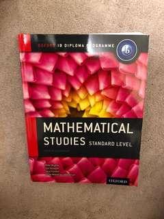 Oxford IBDP Math Studies SL Textbook