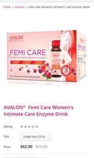 AVALON Femi Care (10 bottles)