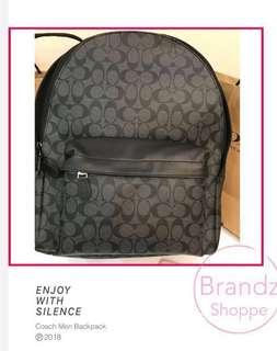 🎄XMAS Sale & YES! 💯% Coach Men F55398 Laptop Backpack (Ready Stock) FOR HIM / HER