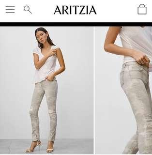 J brand mid rise grey jeans size 27
