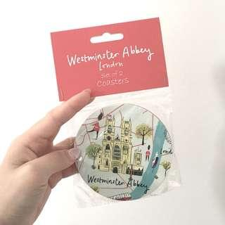 Westminster Abbey London Coasters