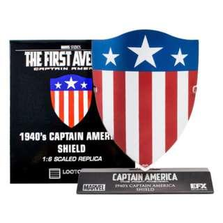 Captain America 1940 Shield 1:6 Scale EFX Marvel