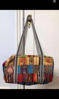 Soft fabric bag from Ecuador