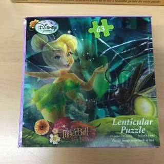 Lenticular Puzzle Tinker Bell 63pcs