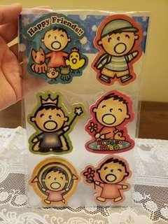 Sanrio 大口仔 磁石貼 (包本地平郵)