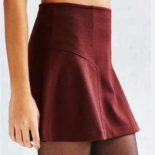 BRAND NEW Urban Outfitters Gaspard Ponte Skirt