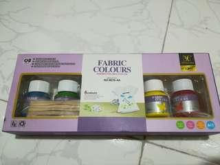 Fabric paint set of 6