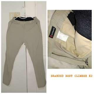 BRANDED CLIMBING TROUSERS