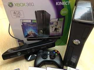 Xbox 360 連game Kinect  一手制