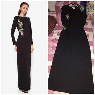 Zalia long dress