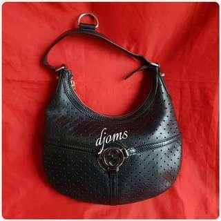✔Gucci Reins Perforated Hobo Bag