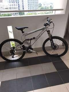 GT mountain bicycle