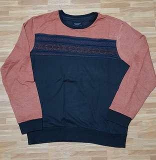 Sweater crewneck longsleeve Cotton On size XL