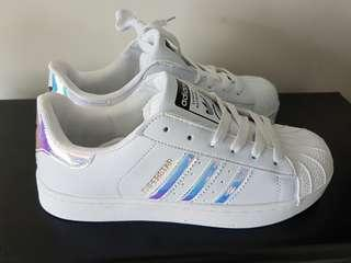 Adidas Superstar Holographic size 8